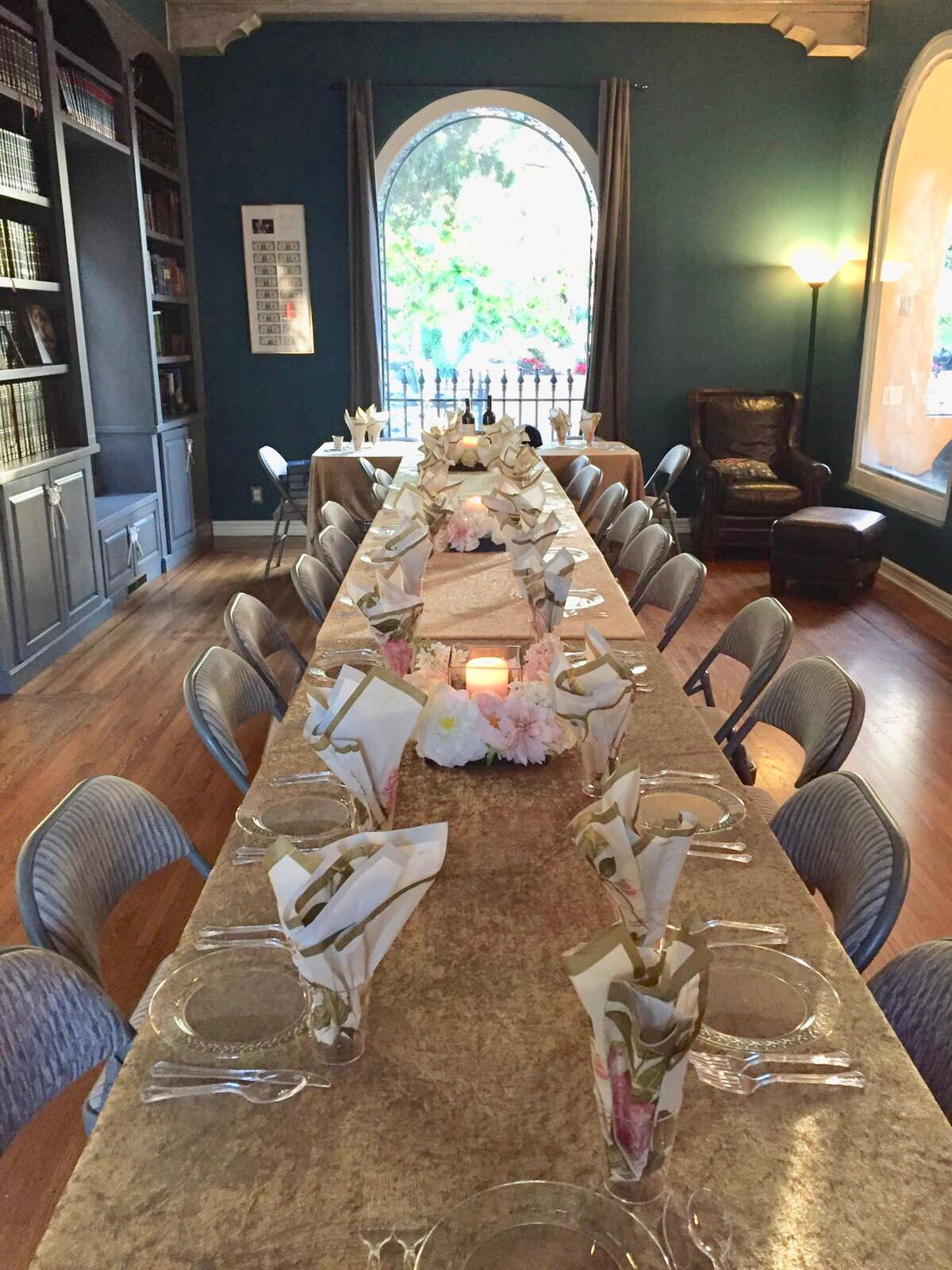Dinner for 30 Strangers- 40 to 55 years